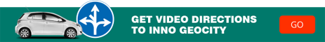 Get video directions to Inno GeoCity